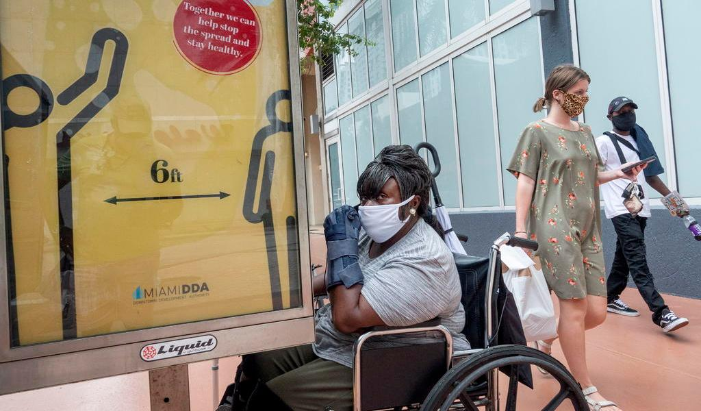 Registra Florida nuevo récord de muertes diarias por COVID-19