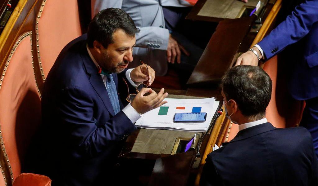 Senado italiano permite juzgar a Matteo Salvini por bloquear al barco 'Open Arms'