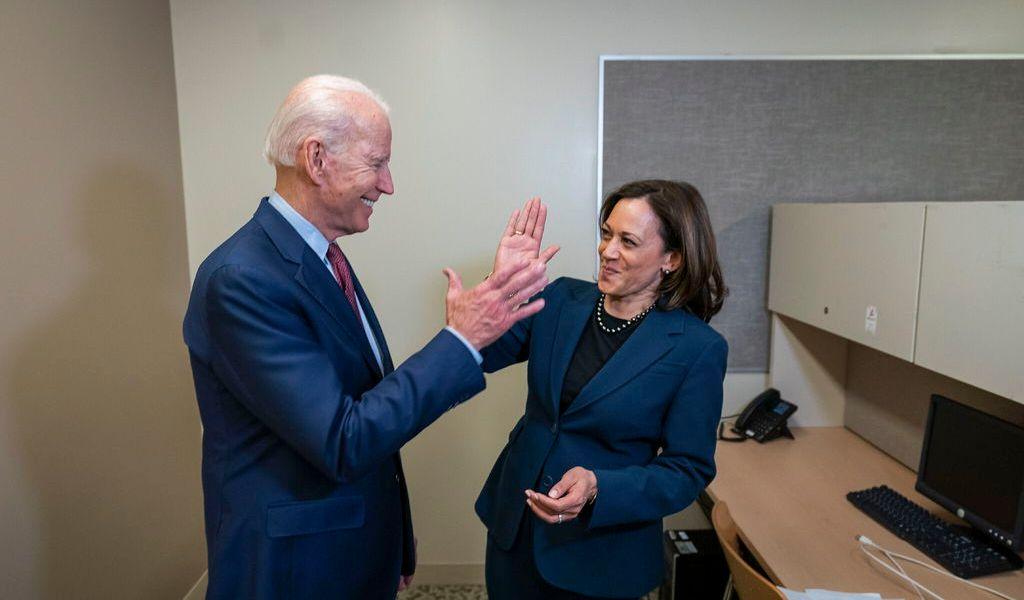 Con Kamala Harris, Joe Biden apuesta a la segura