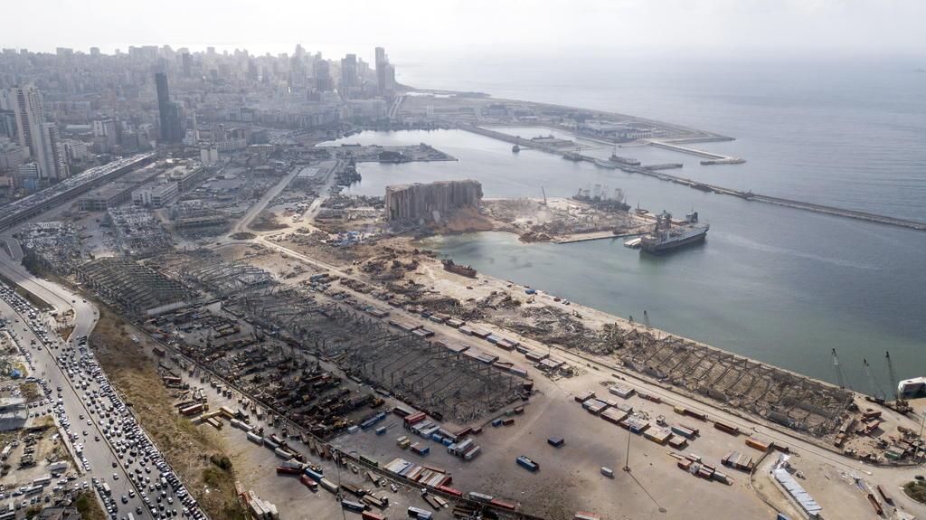Presidente del Líbano reconoce que supo del nitrato de amonio en julio