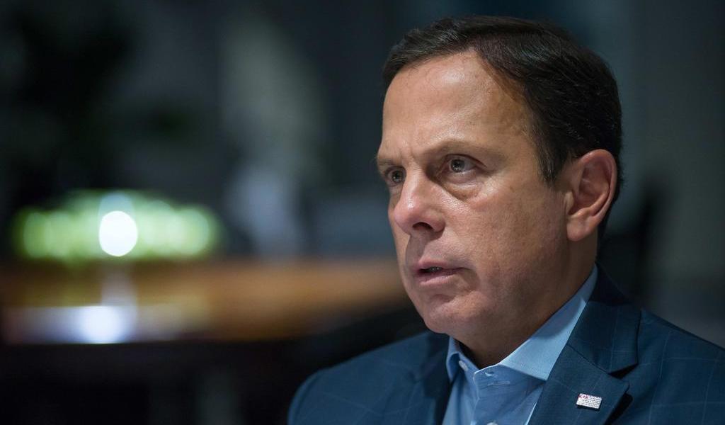 Gobernador de Sao Paulo da positivo a COVID-19
