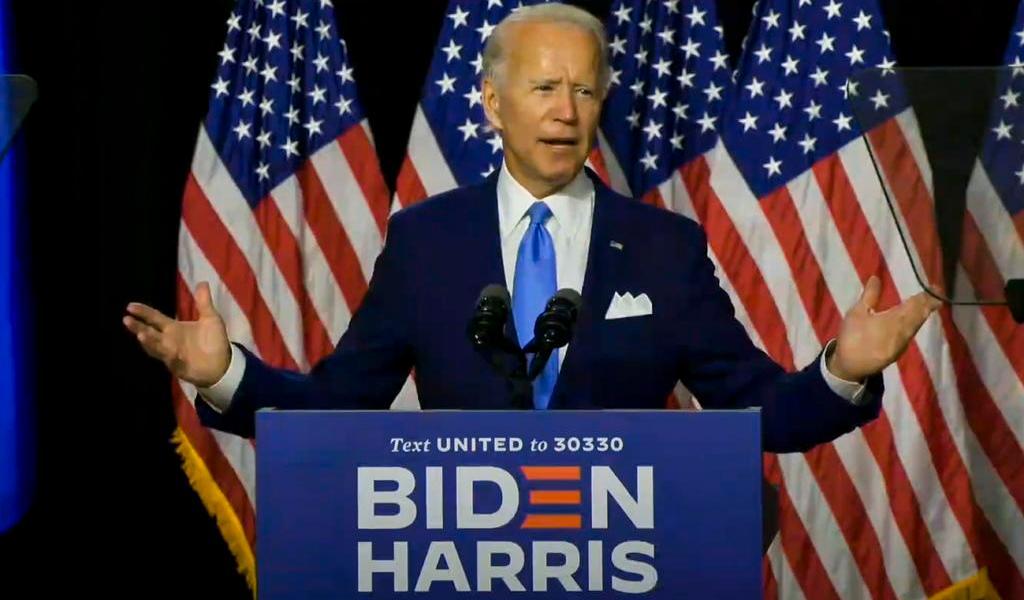 Arranca Convención Demócrata para oficializar candidatura de Biden en EUA