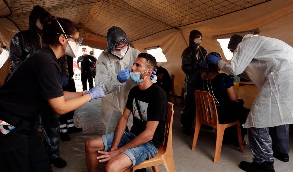 Registra Francia un pico de contagios en el último día