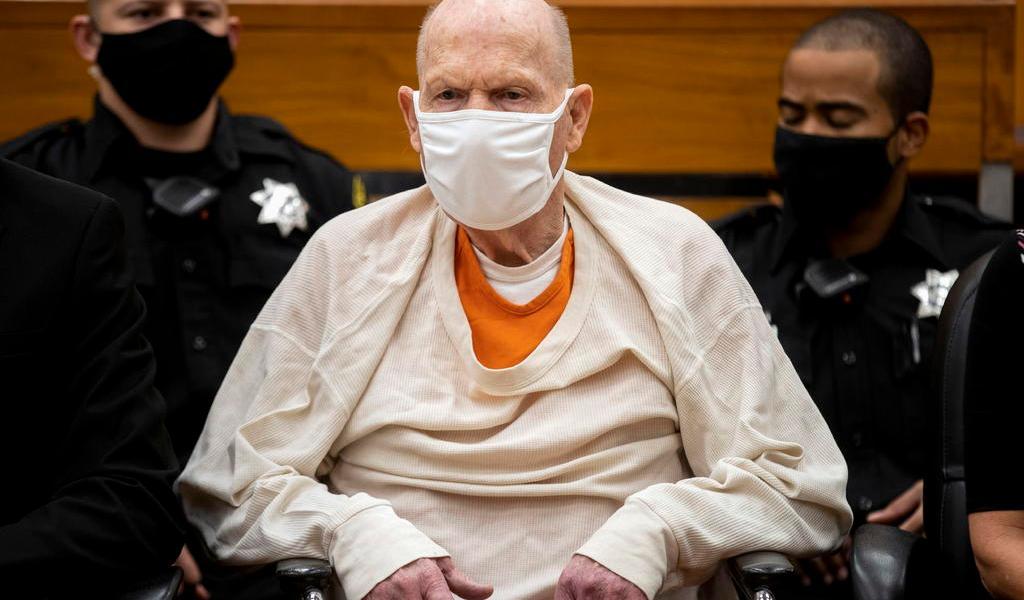 Sentencian a cadena perpetua al asesino en serie 'Golden State Killer' en EUA