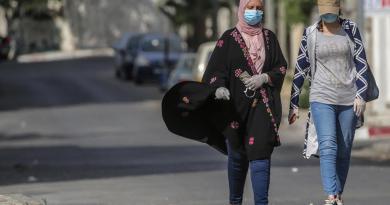 Gaza amplía el confinamiento 48 horas tras nuevos contagios de COVID-19