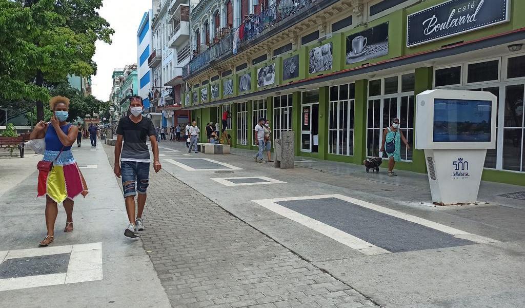 Reporta Cuba 42 nuevos casos de COVID-19; sigue con curva oscilante