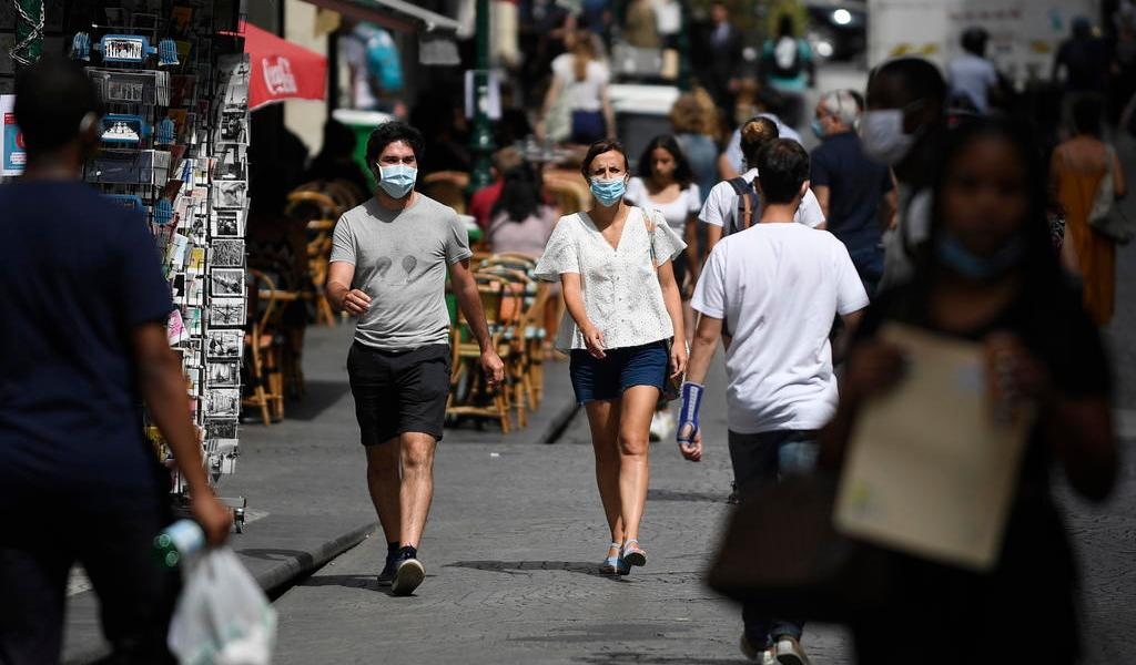 Francia registra 7,183 nuevos contagios de COVID-19 en el último día