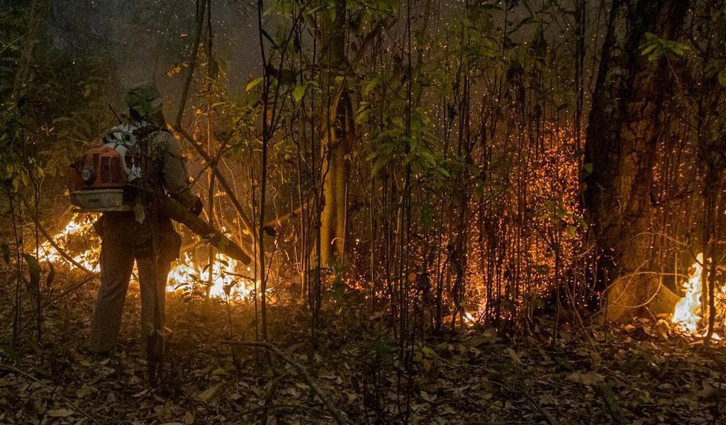 Incendios alcanzan nivel récord en el Pantanal en Brasil; presionan a Bolsonaro