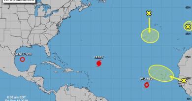 Tormenta tropical 'Wilfred' se forma en el este del Atlántico