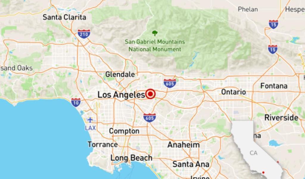 Se registra temblor de 4.6 e California