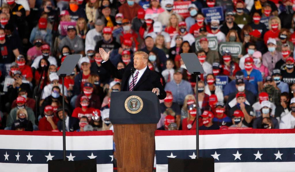 Trump y Biden intensifican su campaña electoral en Florida