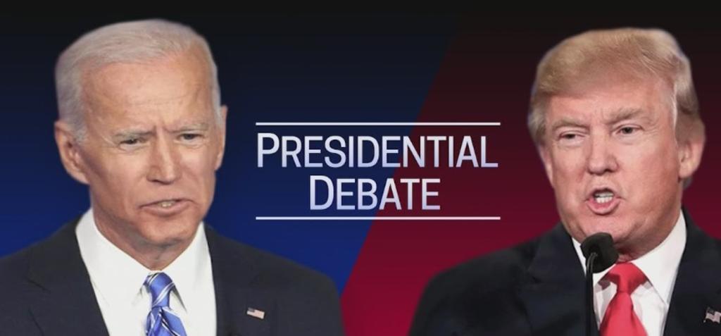¿Dónde ver el primer debate presidencial entre Donald Trump y Joe Biden?