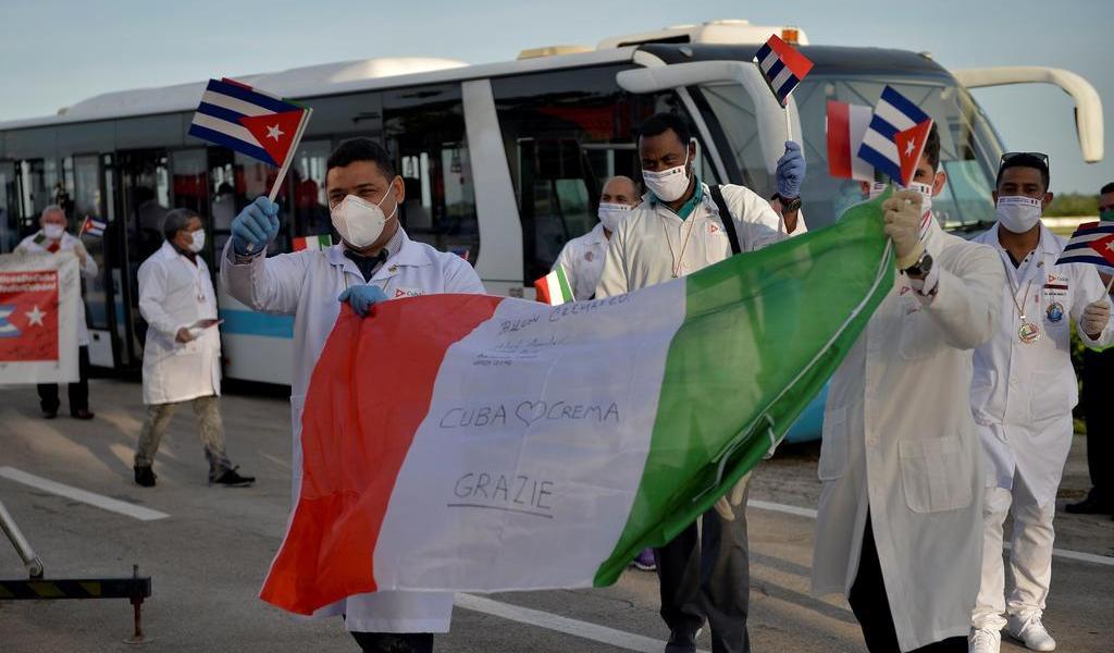 Apoyan a brigada de médicos de Cuba para recibir el Nobel de la Paz