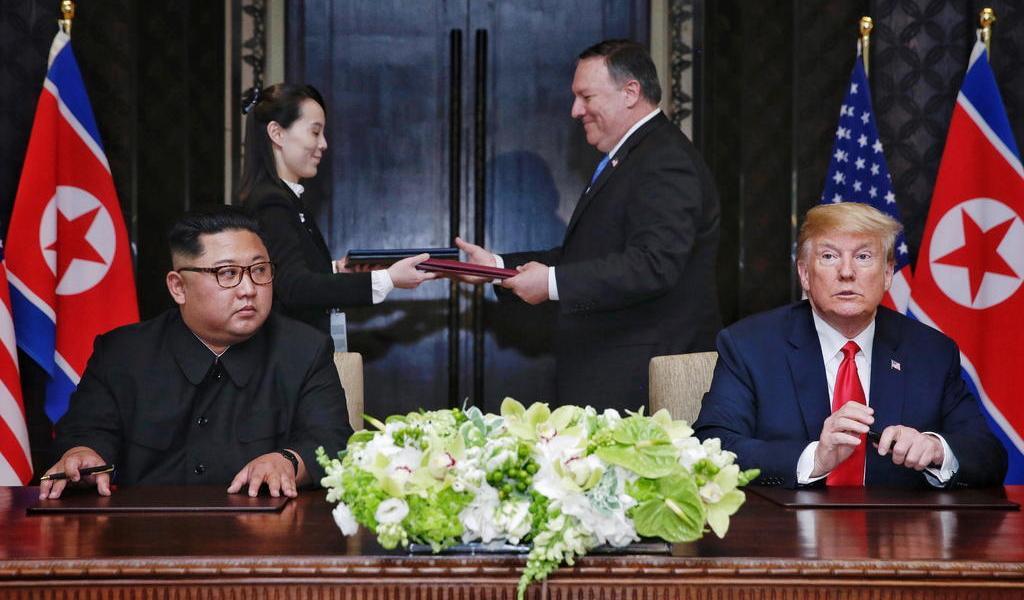 Desea Kim Jong-un que Trump se recupere pronto de COVID-19