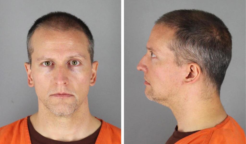 Liberan a Derek Chauvin, expolicía acusado del asesinato de George Floyd