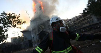 Se desbordan las protestas en Chile