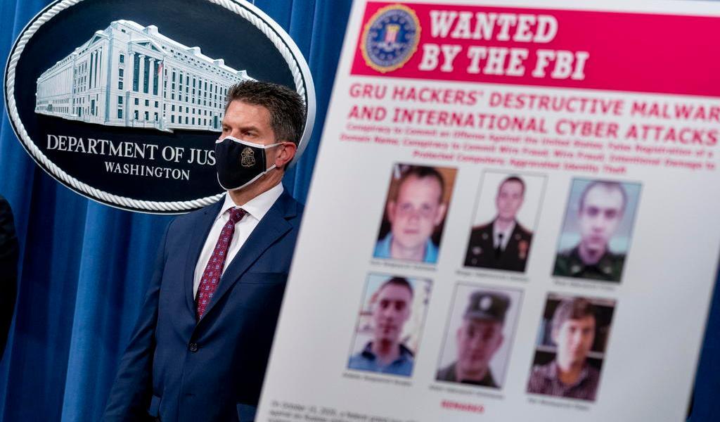 Acusa EUA a seis militares rusos de hackeo