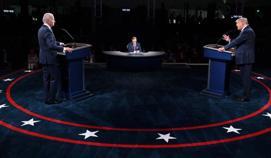 Establecen nuevas reglas para debate presidencial en EUA