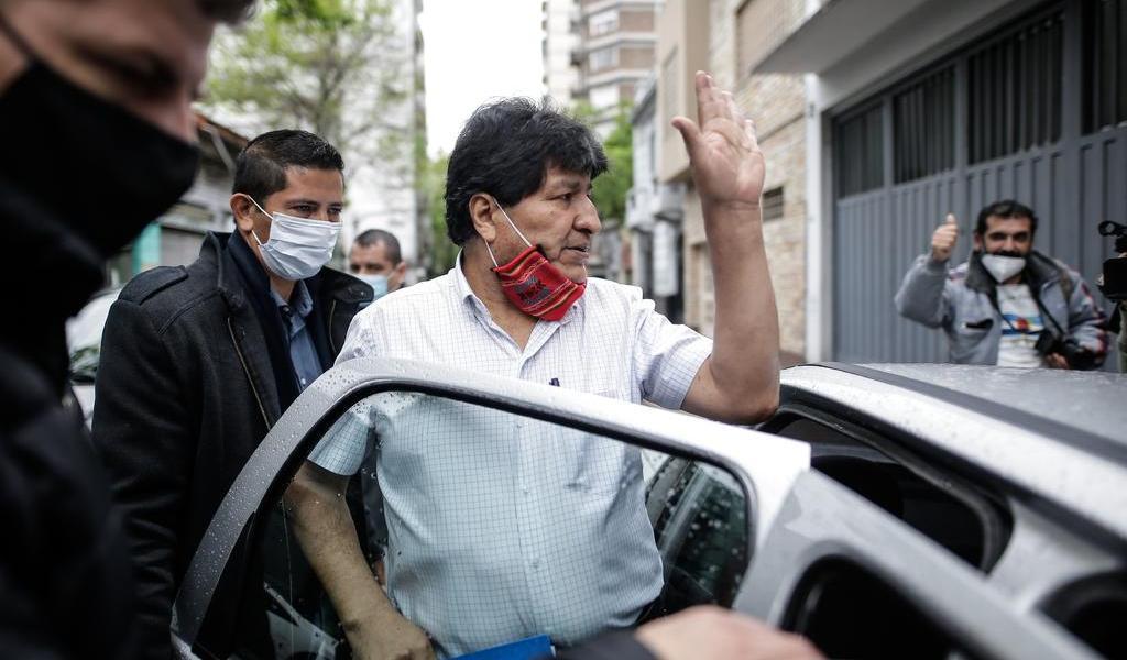 Sale Evo Morales de Argentina; tiene como destino Venezuela