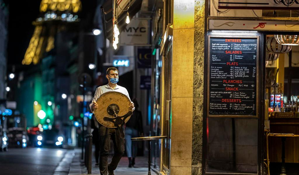 Registra Francia cuarto récord diario consecutivo de contagios de COVID-19