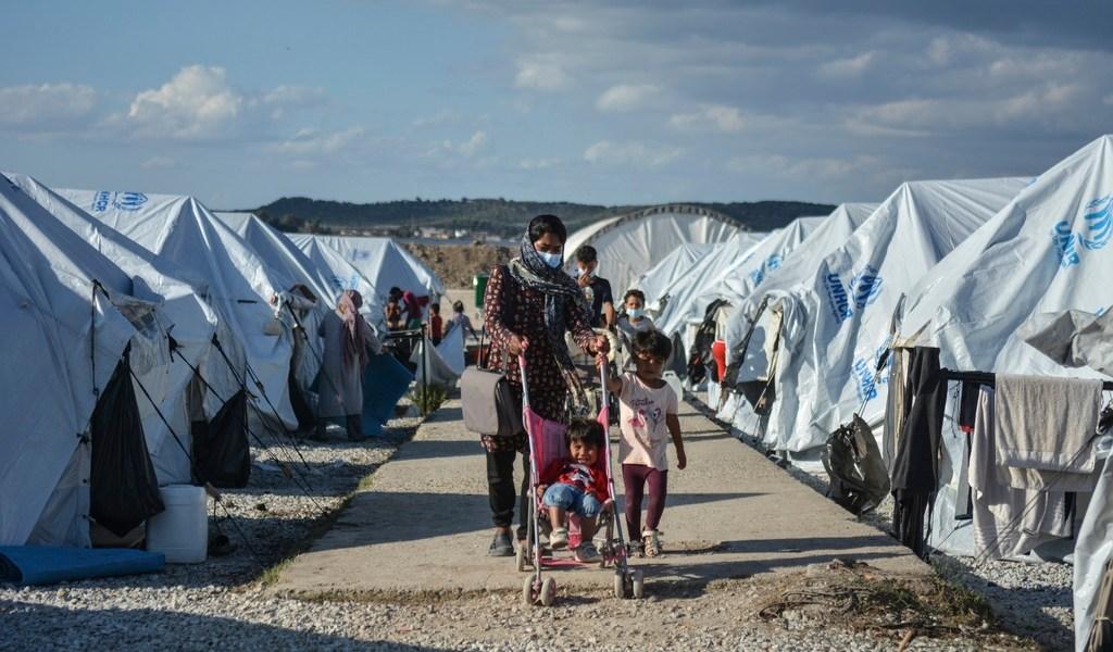 COVID-19 en campo de refugiados de Grecia, una conjunción atroz