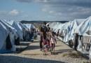 Virus en un campo de refugiados en Grecia; una conjunción atroz
