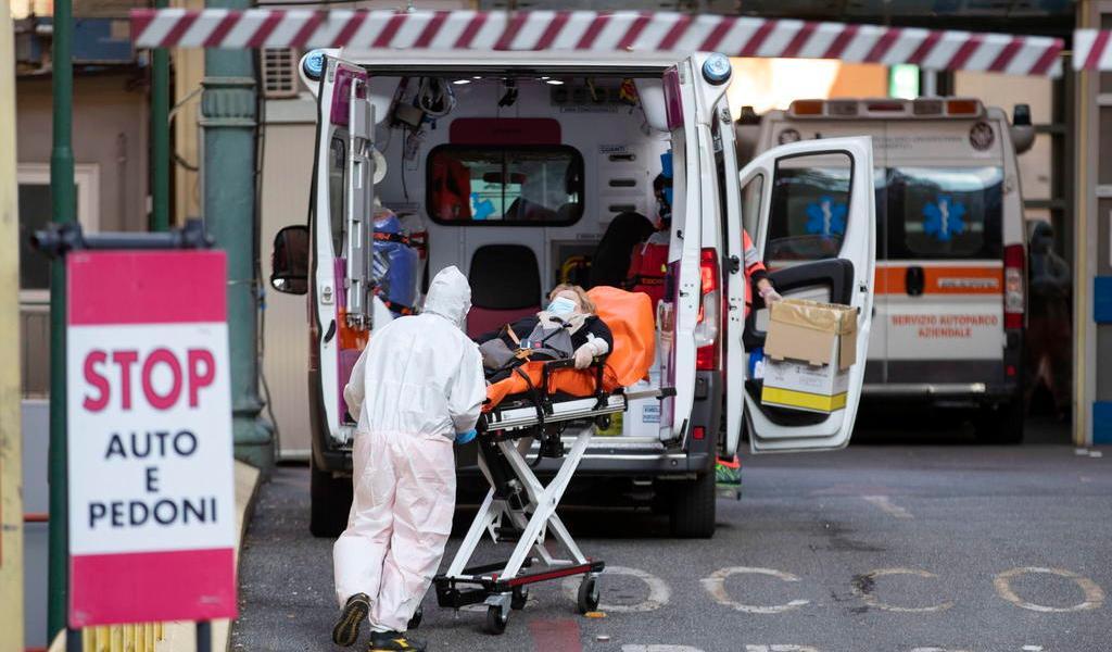 Suma Italia casi 25 mil nuevos casos de COVID-19