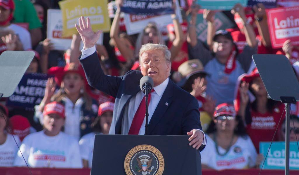 Promete Trump crear 2 millones de empleos para los latinos si es reelegido