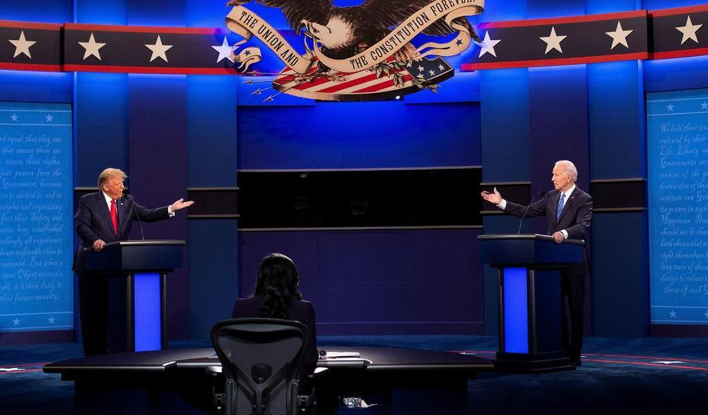 Joe Biden aventaja a Trump en la carrera presidencial de Estados Unidos