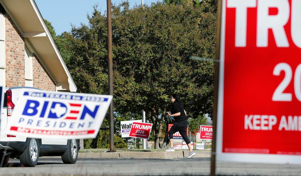 Trump se lleva el estado clave de Texas; acortando la distancia con Biden