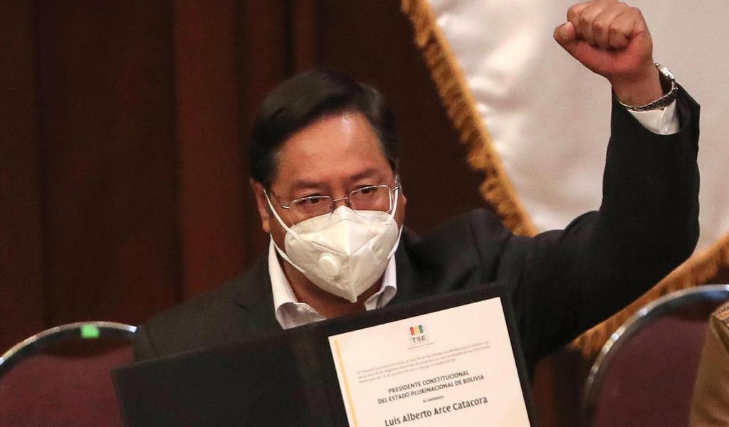 Atentan contra sede del MAS en Bolivia, cuando se encontraba el presidente electo