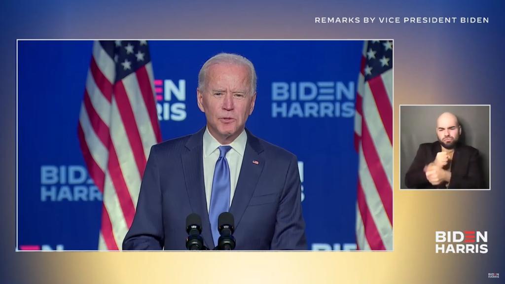 Sostiene Biden que 'vamos a ganar la carrera por la Presidencia de EUA'