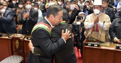 Critica nuevo presidente de Bolivia a gobierno de Jeanine Áñez