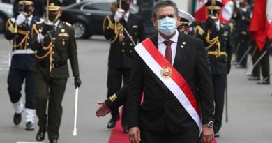 Merino, tercer presidente de Perú en cuatro años
