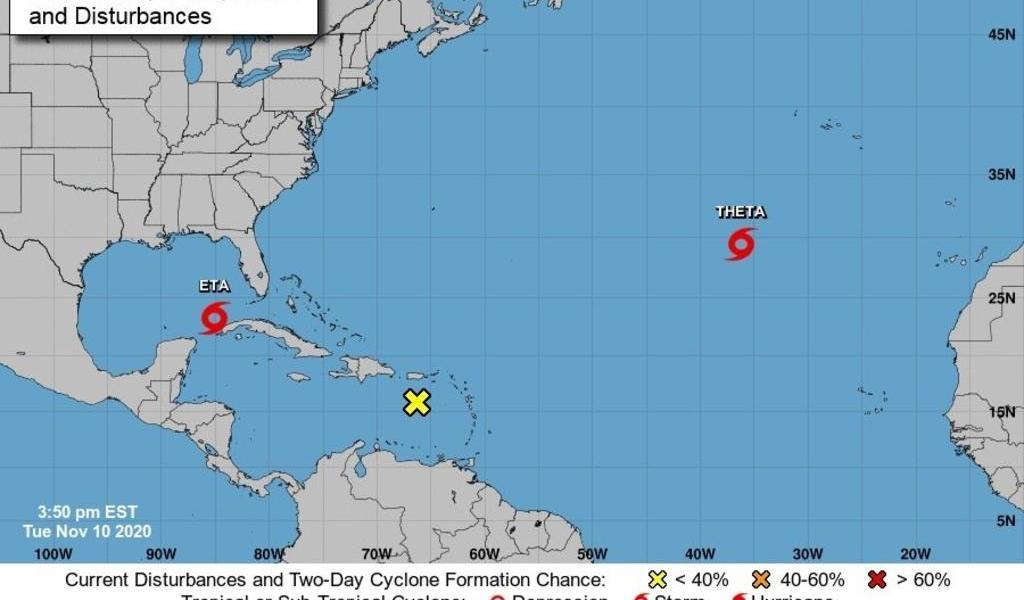 Huracán 'Eta' se acerca a Florida; moviliza la zona de la Bahía de Tampa