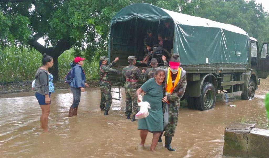 Suman ocho los muertos por el paso del huracán 'Iota' en Nicaragua