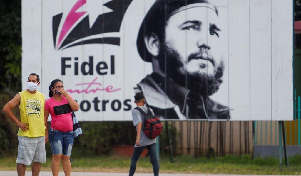 Conmemora Cuba aniversario de muerte de Fidel Castro, en día que fallece Maradona