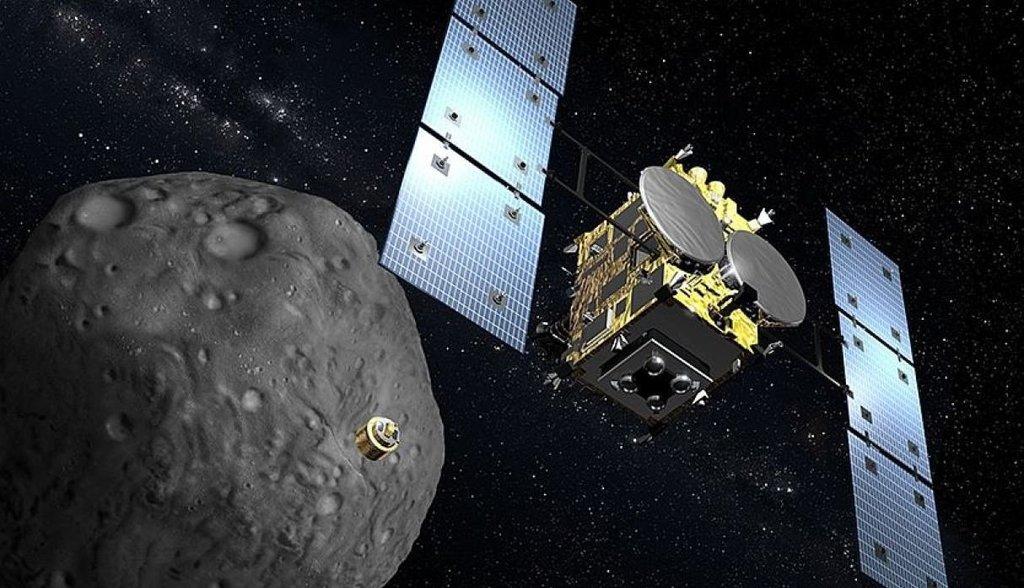 Regresa sonda japonesa con éxito