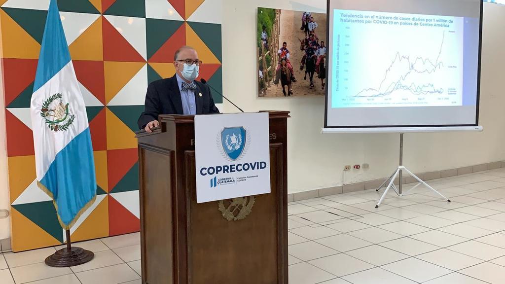 Edwin Asturias, abandona su puesto de la comisión presidencial para la COVID-19 en Guatemala