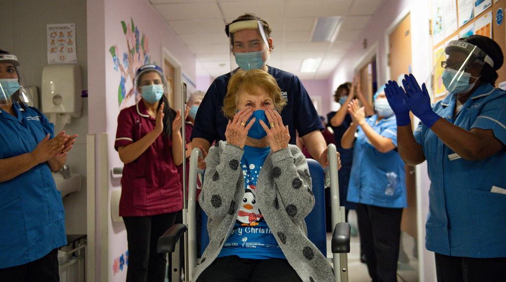 Marcan el día 'V' una anciana y una enfermera