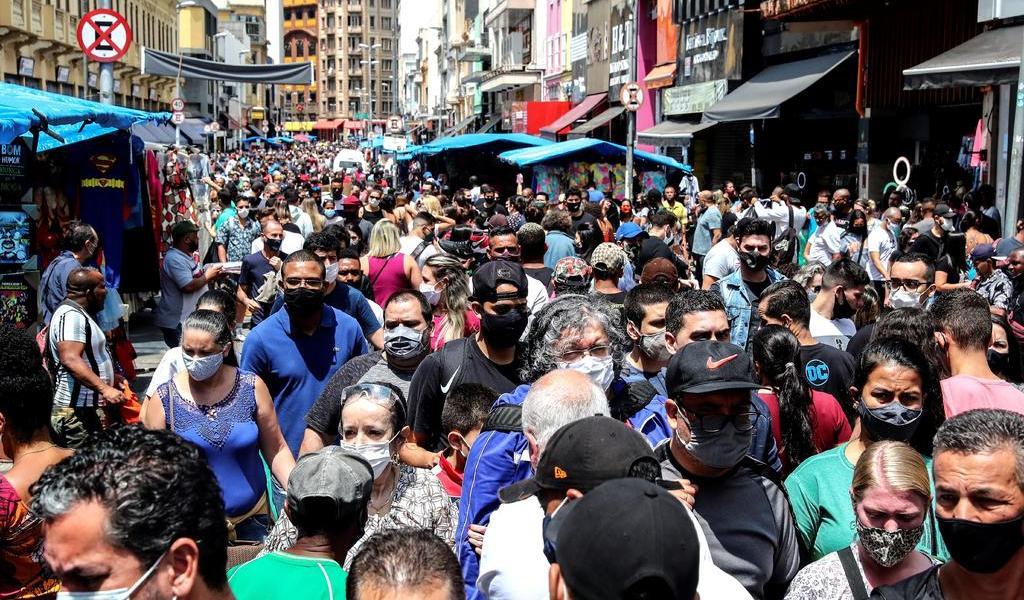 Advierte OPS del alza de contagios de COVID-19 en Centroamérica y Brasil