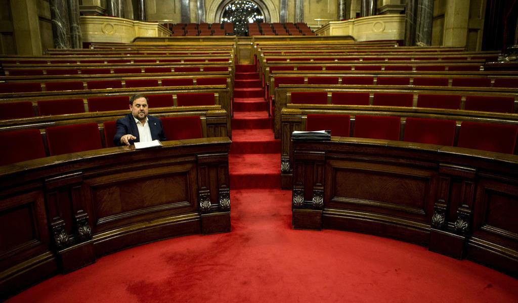 Justicia europea rechaza recurso de Oriol Junqueras sobre su escaño