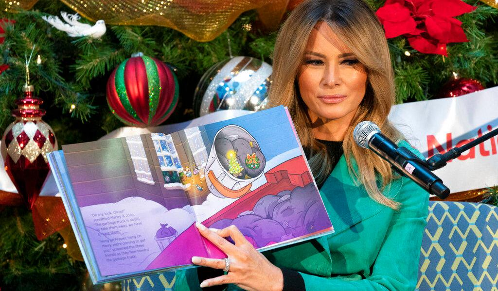 Melania Trump visita hospital infantil en Washington
