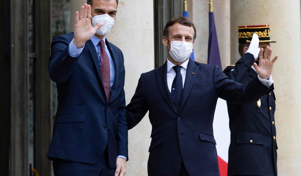 Pedro Sánchez da negativo a COVID-19 tras contacto con Emmanuel Macron