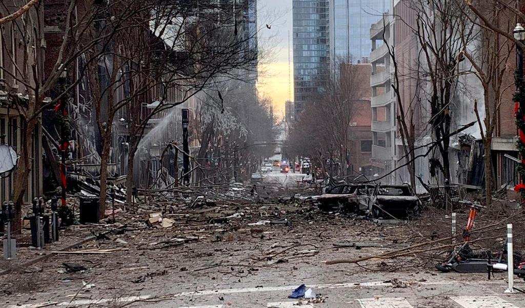 FBI investiga más de 500 pistas relacionadas con la explosión en Nashville