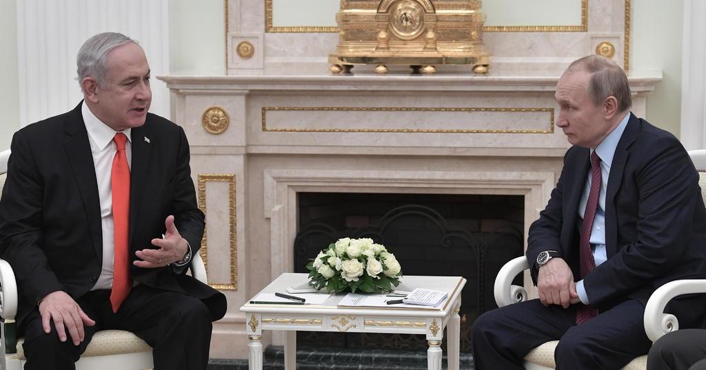 Putin y Netanyahu conversan sobre Siria y la estabilidad en Oriente Medio