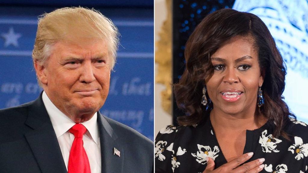 Trump y Michelle Obama, hombre y mujer más admirados en EUA