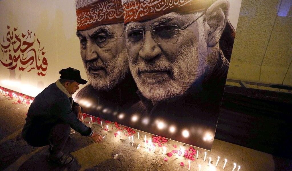Irán sigue clamando venganza por Soleimani