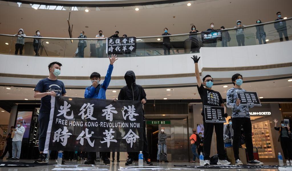 Condena Reino Unido las detenciones de activistas en Hong Kong
