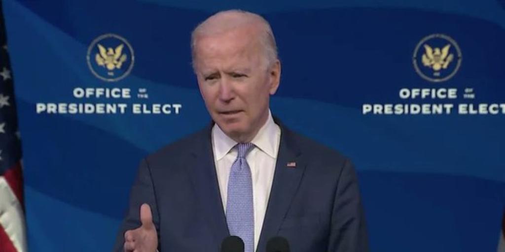 'El presidente no está por encima de la ley', advierte Biden